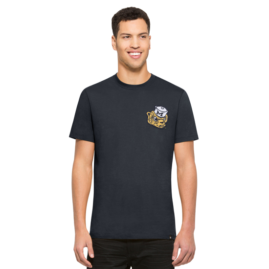 '47 Brand University of Michigan Navy College Vault Knockout Tee