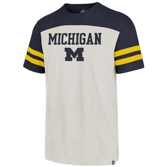 '47 Brand University of Michigan ''Endgame Club'' Tri-Color Tee