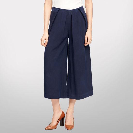 Brooks Brothers University of Michigan Ladies Silk Palazzo Pants