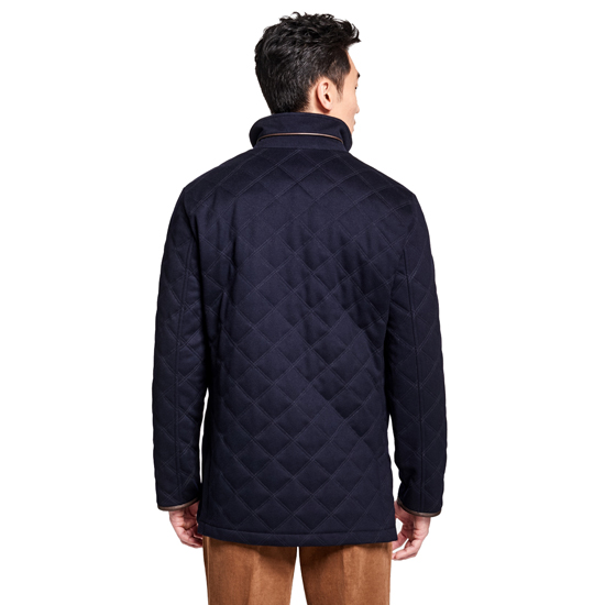 Brooks Brothers University Of Michigan Brooksstorm Quilted