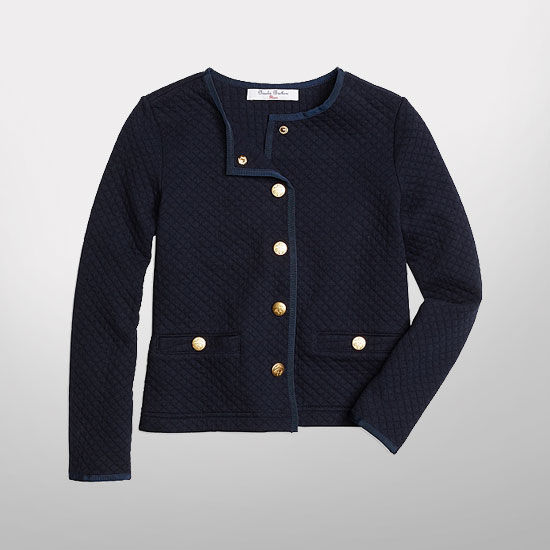 Brooks Brothers University Of Michigan Youth Girls Cotton
