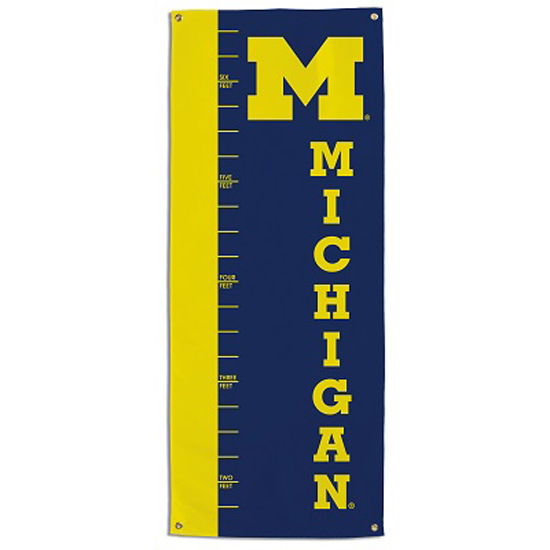 BSI Products University of Michigan Growth Chart Banner