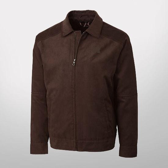 Cutter & Buck University of Michigan Microsuede Roosevelt Jacket