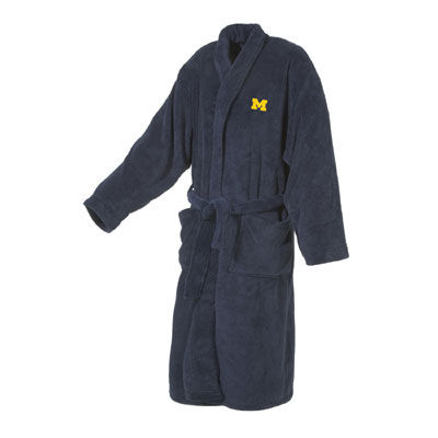 College Concepts Plush Michigan Robe