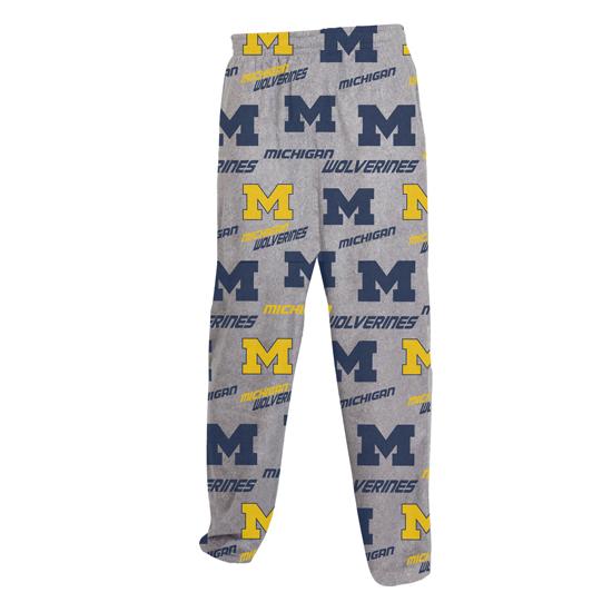 College Concepts University of Michigan ''Achieve'' Microfleece Sleep Pant