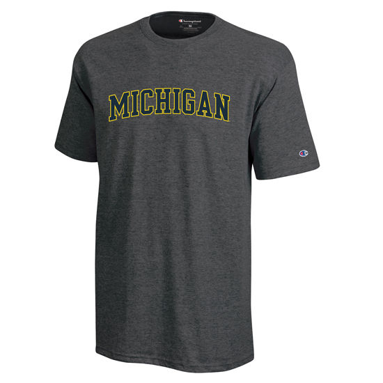 Champion University of Michigan Granite Basic Tee
