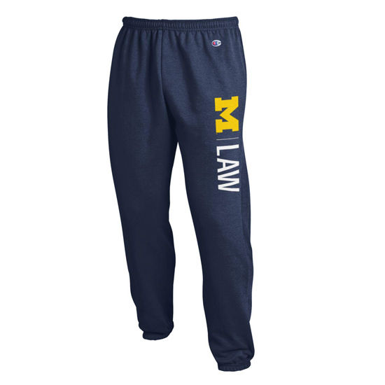 Champion University of Michigan Law School Navy Sweatpant