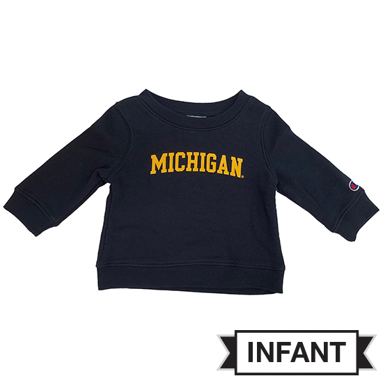 Champion University of Michigan Infant Navy Crewneck Sweatshirt