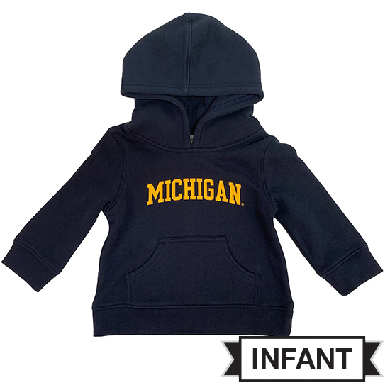 Champion University of Michigan Infant Navy Hooded Sweatshirt