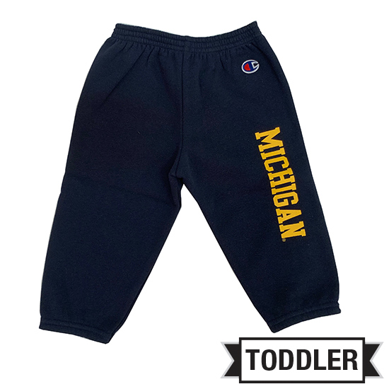 Champion University of Michigan Toddler Navy Pant