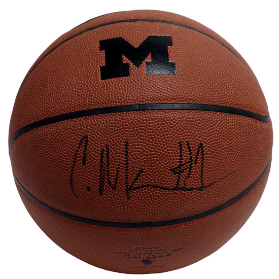 University of Michigan Basketball Charles Matthews Autograph Replica Nike Basketball