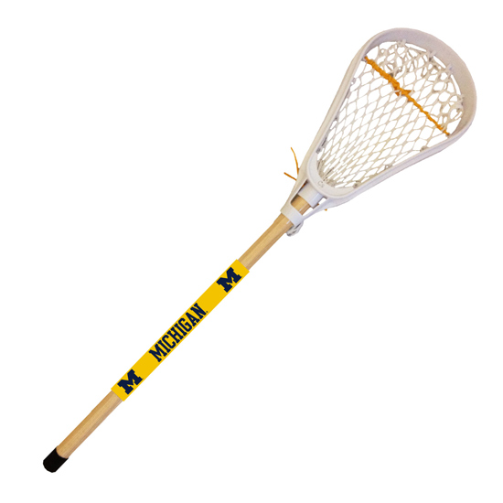 University of Michigan Lacrosse Mini Stick and Ball