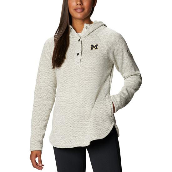 Columbia University of Michigan Women's Chalk Darling Days Hooded Sweatshirt