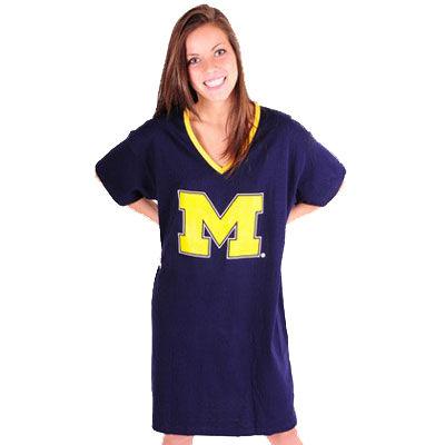 Emerson Street University of Michigan Ladies Night Shirt in a Bag