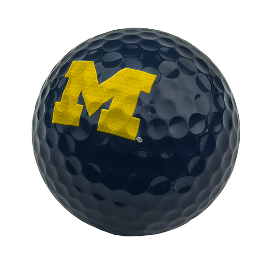 EnjoyLife University of Michigan Navy Golf Ball