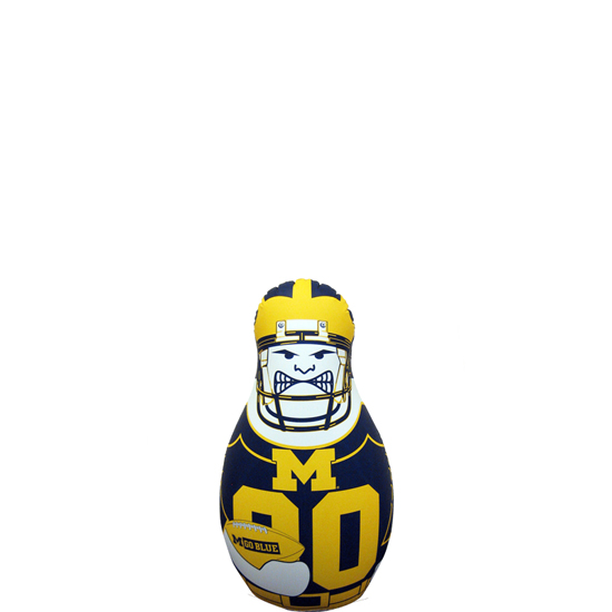 Fremont Die University of Michigan Mini Tackle Buddy Bop Bag