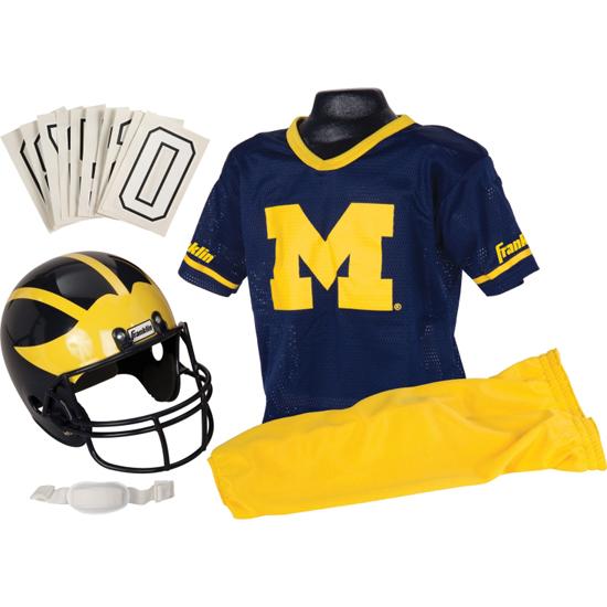 Franklin University of Michigan Football Youth Uniform Set