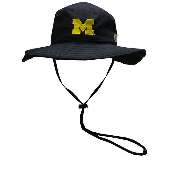 The Game University of Michigan Navy Safari Bucket Hat