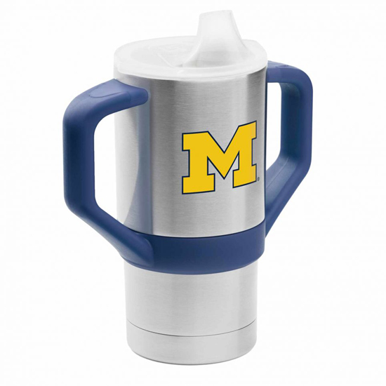 Gametime Sidekicks University of Michigan 8 oz. Stainless Steel Sippy Cup