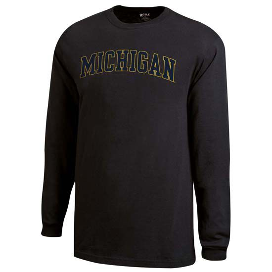 Gear University of Michigan Granite Long Sleeve Tee