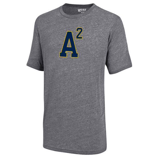 Gear University of Michigan Gray Triblend A2 Tee