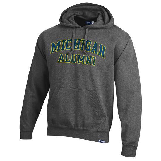 Gear University of Michigan Alumni Granite Hooded Sweatshirt