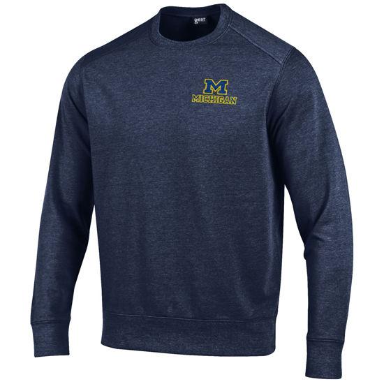Gear University of Michigan Navy Canyon Crewneck Sweatshirt