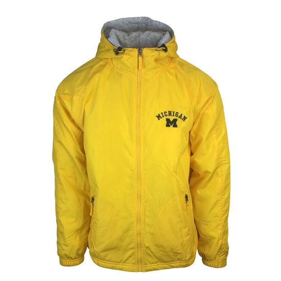 Holloway University of Michigan Yellow Field Jacket