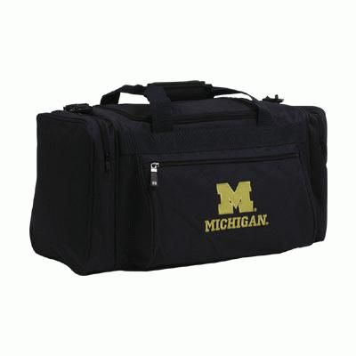 2f4551b1a Holloway University of Michigan Small Navy Duffle Bag