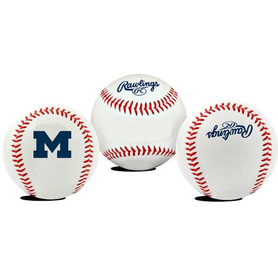 Rawlings University of Michigan Baseball Commemorative Baseball