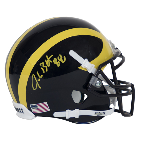 University of Michigan Football Jake Butt Autographed Mini Helmet