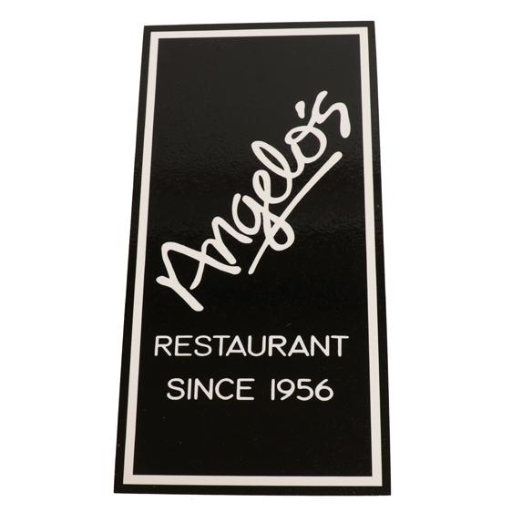JMB Signs Angelo's Restaurant Ann Arbor Sign