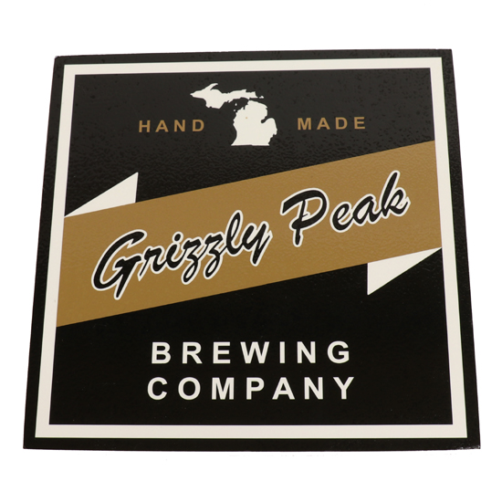 JMB Signs Grizzly Peak Brewing Company Ann Arbor Sign