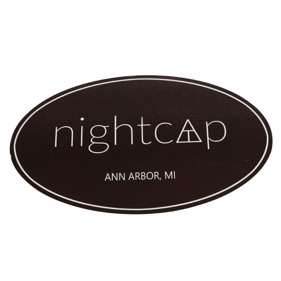 JMB Signs Nightcap Ann Arbor Sign