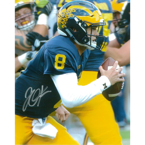 University of Michigan Football John O'Korn Autographed 8 x 10 Picture