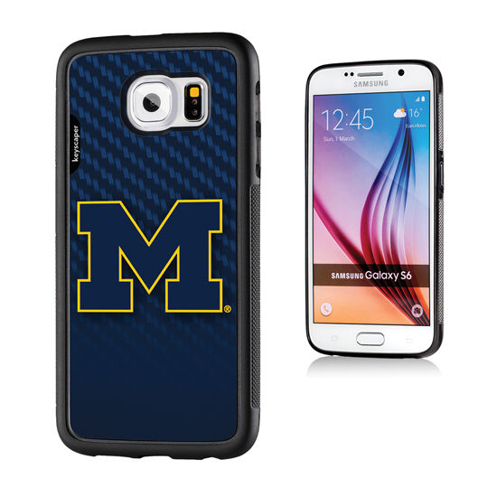 Keyscaper University of Michigan Samsung Galaxy S6 Bump Series Case