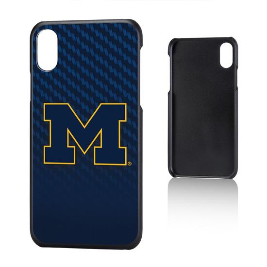 Keyscaper University of Michigan Apple iPhone X Slim Case