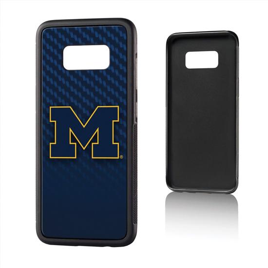 Keyscaper University of Michigan Samsung Galaxy S8 Bump Series Case