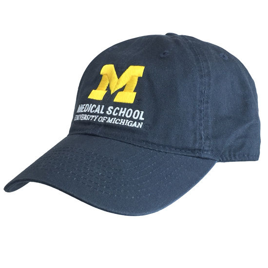 Legacy University of Michigan Medical School Navy Hat