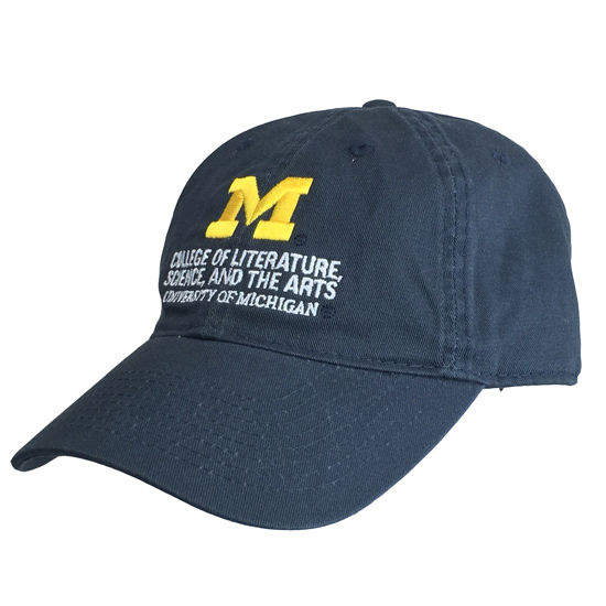 Legacy University of Michigan L, S, and A Navy Hat