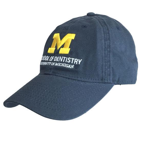 Legacy University of Michigan School of Dentistry Navy Hat