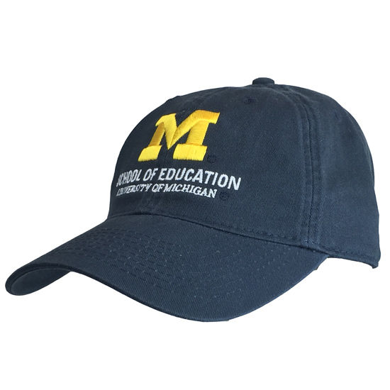 Legacy University of Michigan School of Education Navy Hat