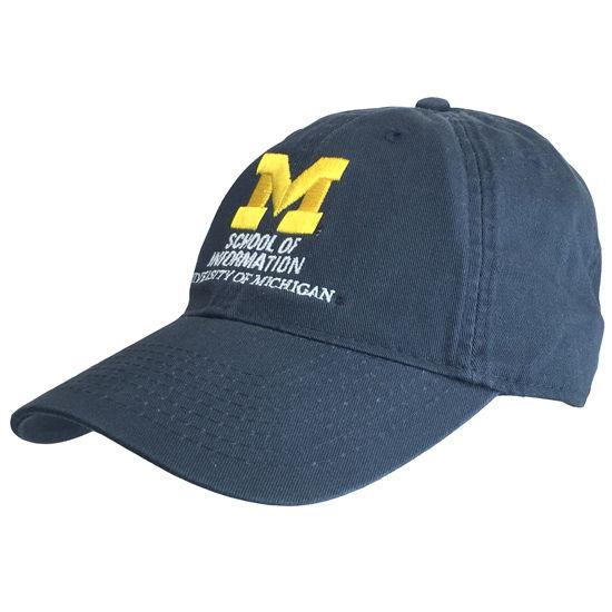 Legacy University of Michigan School of Information Navy Hat
