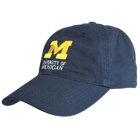 Legacy University of Michigan Signature Mark Navy Hat