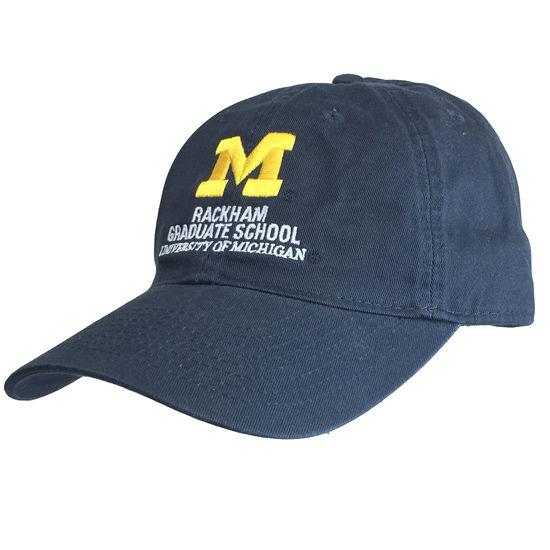 Legacy University of Michigan Rackham Graduate School Navy Hat