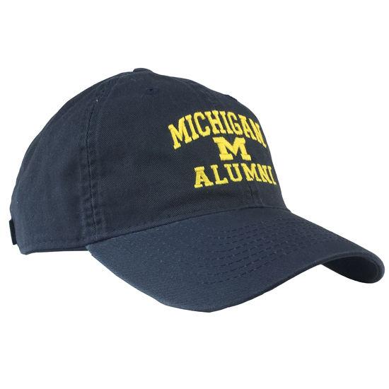 Legacy University of Michigan Alumni Navy Slouch Hat