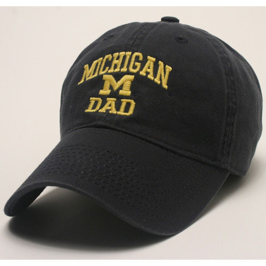 Legacy University of Michigan Dad Navy Slouch Hat