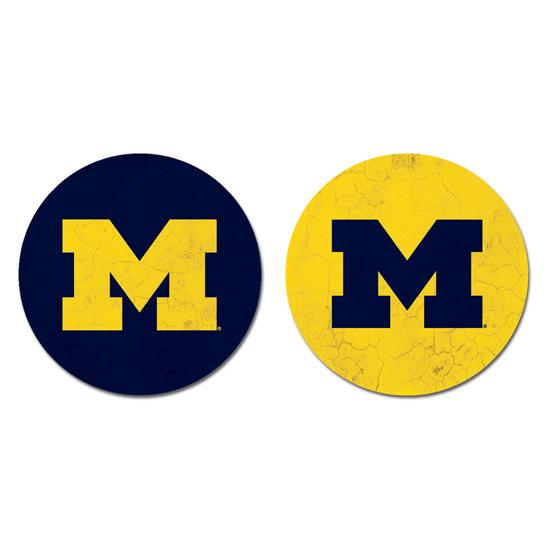 Legacy University of Michigan Car Console Coasters