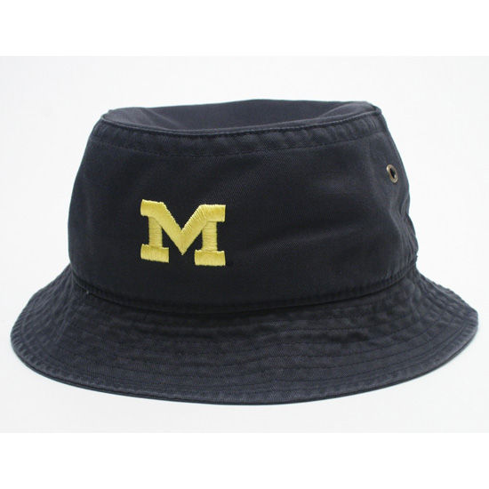 Legacy University of Michigan Navy Bucket Hat