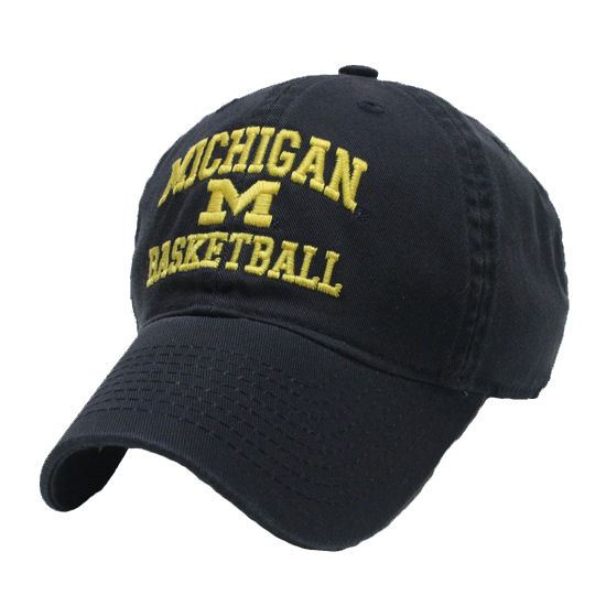 Legacy University of Michigan Youth Navy Basketball Slouch Hat